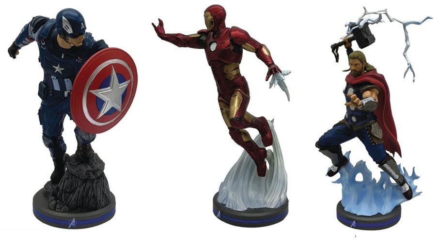Pop Culture Shock presenta  Captain America, Iron Man e Thor da Marvel's Avenger