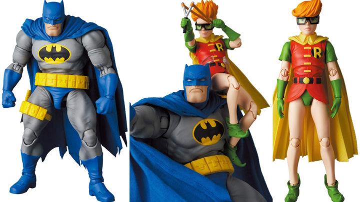 Batman Blue Ver. & Robin (The Dark Knight Returns) Mafex di Medicom Toy