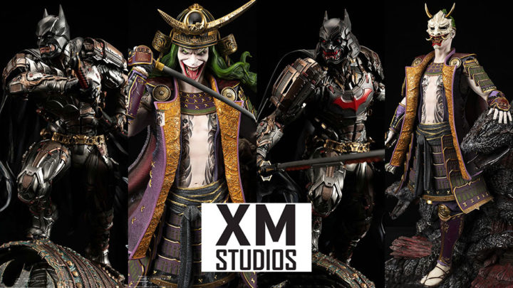 XM Studios: Batman Shugo and The Joker Orochi 1/4 Premium Collectibles Statue