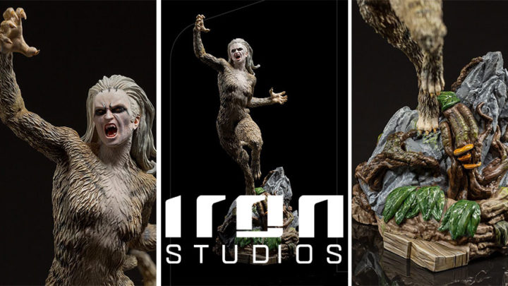 Iron Studios: Cheetah BDS Art Scale 1/10 – WW84