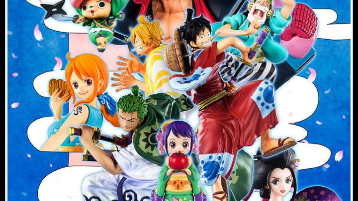 Diorama One Piece Saga di Wano Figuarts ZERO di Tamashii Nations