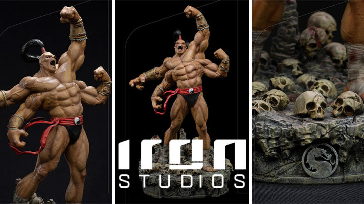 Iron Studios: Goro Art Scale 1/10 – Mortal Kombat