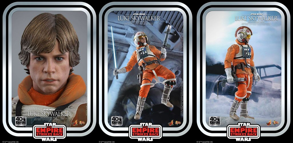 Hot Toys: Luke Skywalker Snowspeeder Pilot 40TH ANNIVERSARY COLLECTION