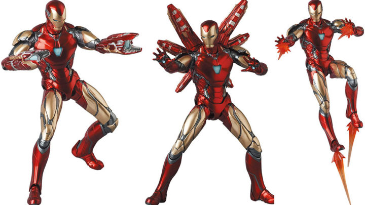 Iron Man Mark 85 (Endgame Ver.) Mafex di Medicom Toy