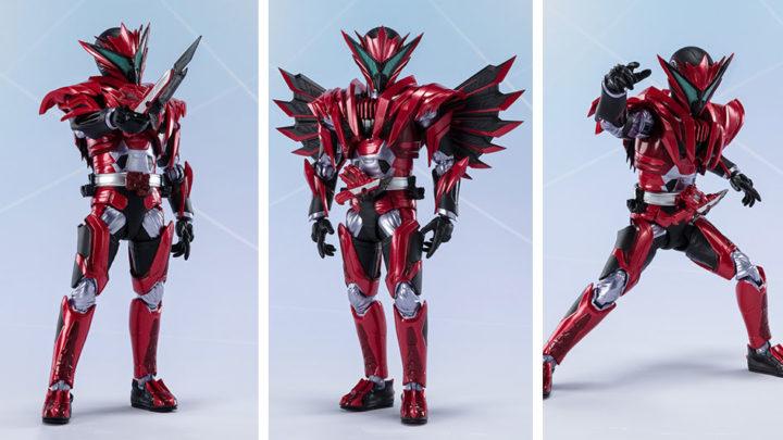 Kamen Rider Jin Burning Falcon S.H.Figuarts di Tamashii Nations