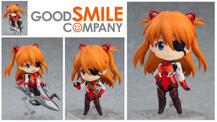 Good Smile Company: Nendoroid Asuka Shikinami Langley Plugsuit Ver.