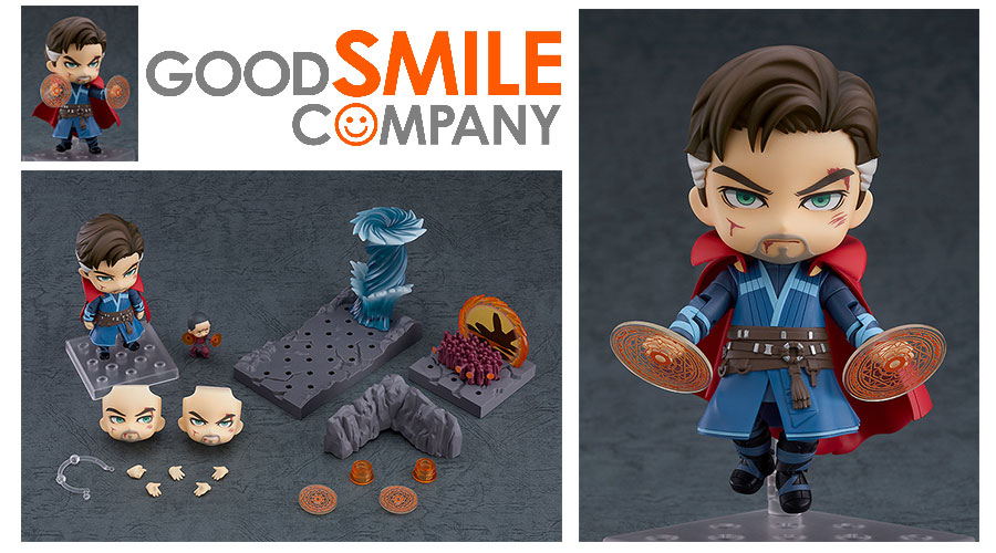 Good Smile Company: Nendoroid Doctor Strange Endgame Ver. e Doctor Strange Endgame Ver. DX