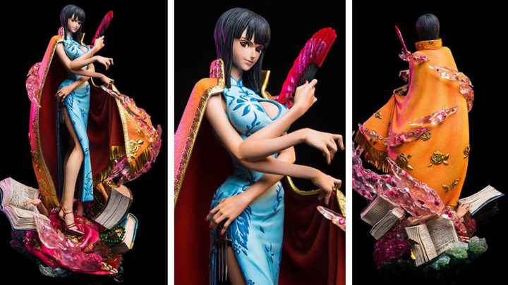 Nico Robin One Piece Log Collection Large Statue Series di Plex