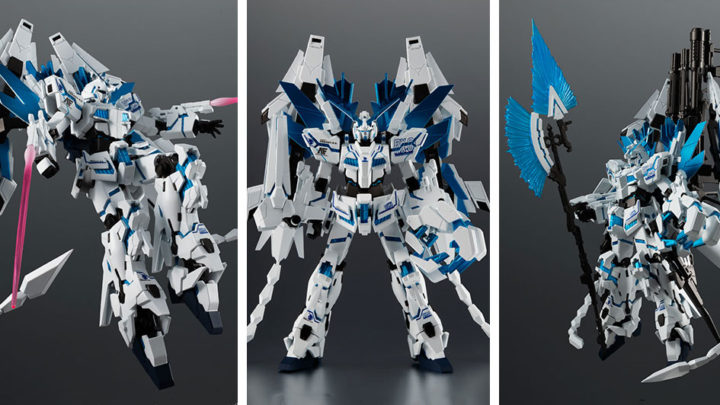 RX-0 Unicorn Gundam Perfectibility Divine The Robot Spirits di Tamashii Nations
