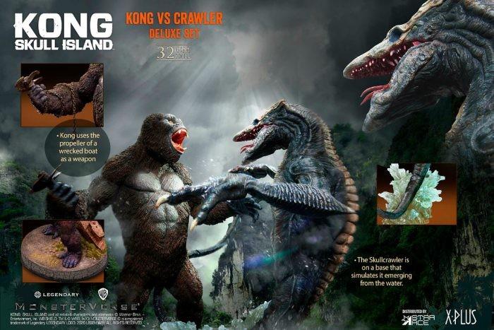 Kong Vs Skull Crawler dalla Star Ace
