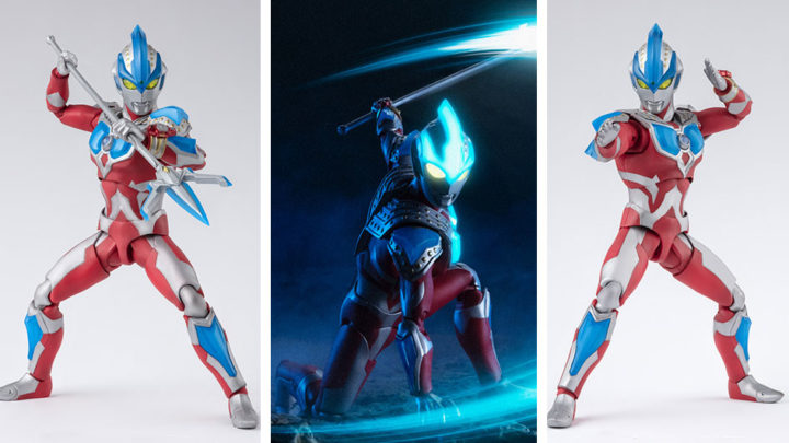 Ultraman Ginga Strium S.H.Figuarts di Tamashii Nations