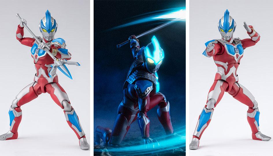 Ultraman Ginga Strium S.H.Figuarts di Tamashii Nations