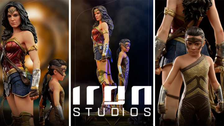 Iron Studios: Wonder Woman & Young Diana Deluxe Art Scale 1/10 – WW84