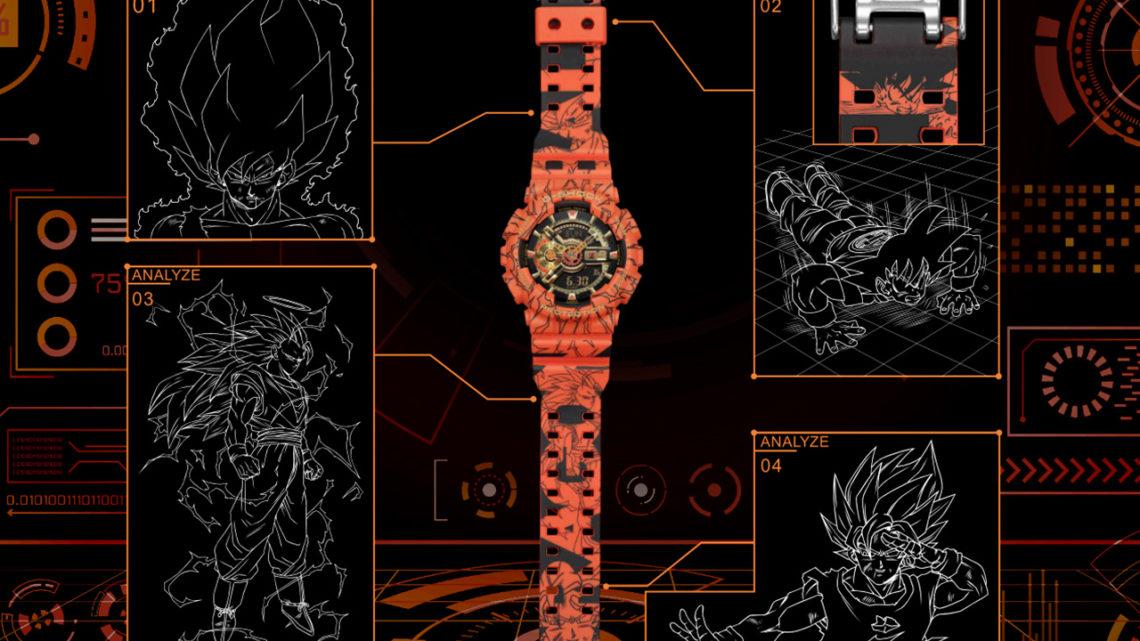 G-Shock dedicato a Dragon Ball Z