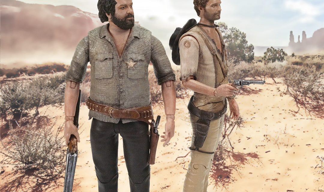Le action figure di Bud Spencer e Terence Hill