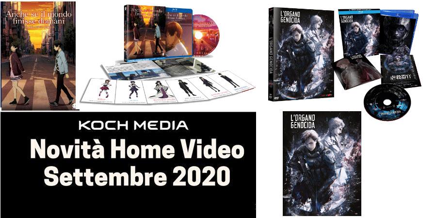 Anime Factory: Le novità Home Video di settembre 2020
