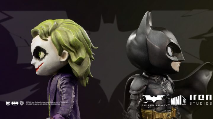 Batman and Joker da Chris Nolan. Iron Studios presenta le Toy Arts MiniCo