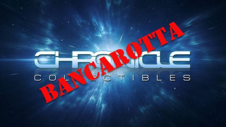 Chronicle Collectibles in bancarotta ?