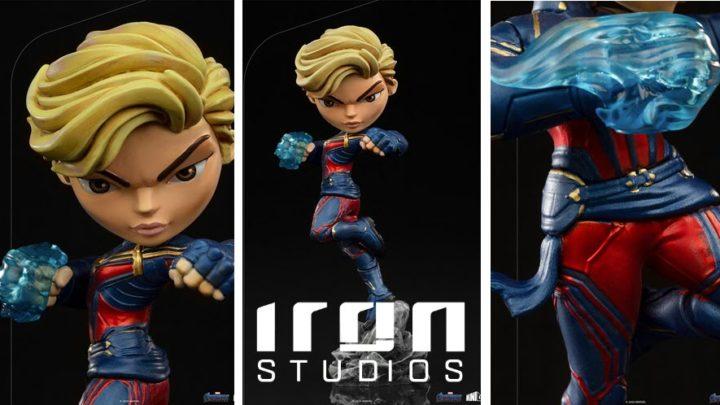 Iron Studios: Captain Marvel – Avengers: Endgame – Minico
