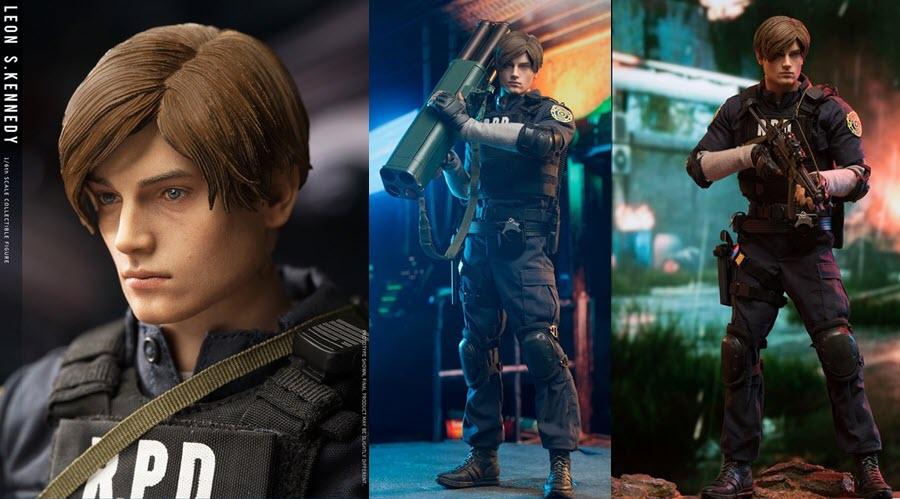 Leon S. Kennedy (Resident Evil 2) da DamToys