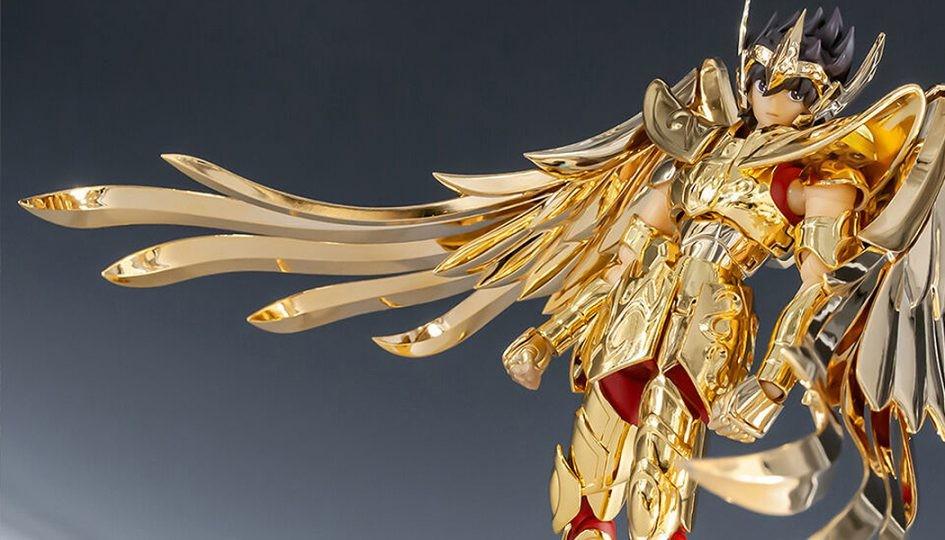 Sagittarius Seiya Myth Cloth  in Oro 24K