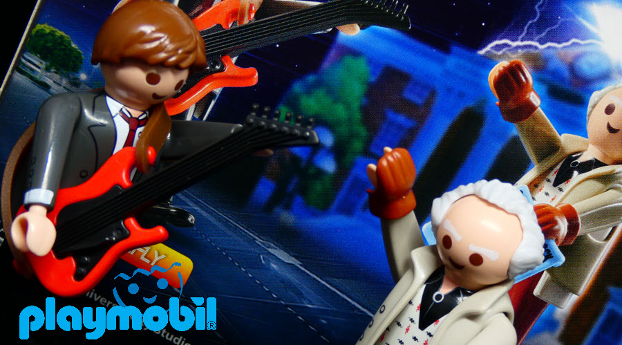 Playmobil : Marty & Doc Brown 1955 (Back to the Future) – Recensione