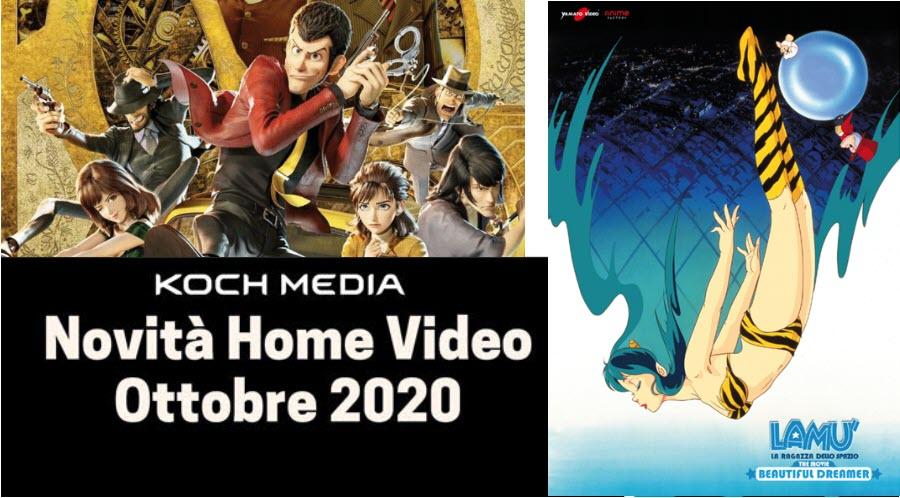 Anime Factory: Le novità Home Video di ottobre 2020