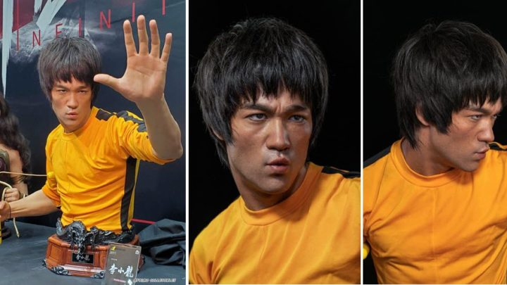 Infinity Studio presenta il busto di Bruce Lee