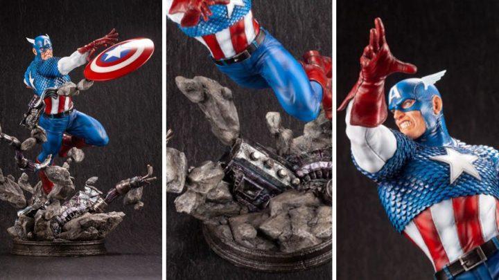 Kotobukiya: Captain America Fine Art Statue