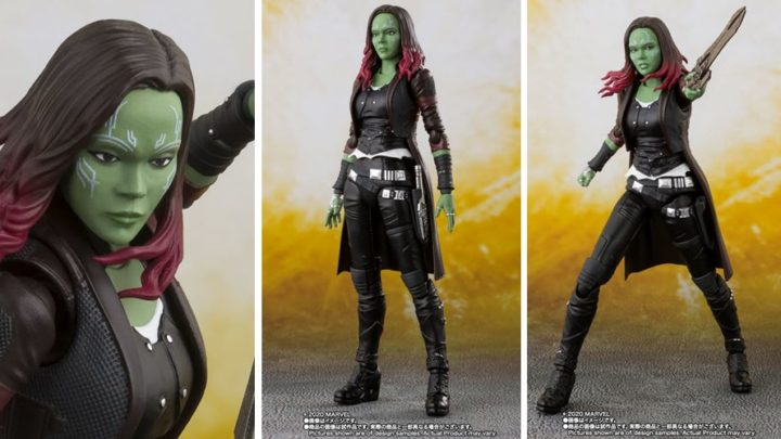 Bandai: Gamora (The Avengers) S.H.Figuarts