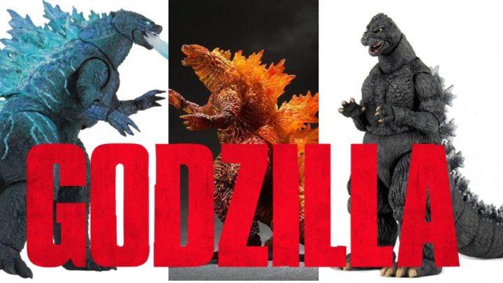 """Godzilla: il """"re dei mostri"""" nel mondo delle action figure"""