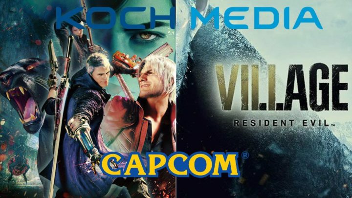 Koch Media Italia distribuisce Capcom