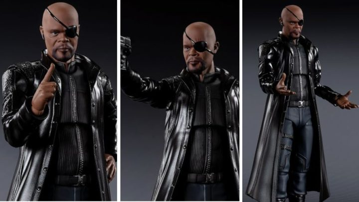 Bandai: Nick Fury (The Avengers) S.H.Figuarts