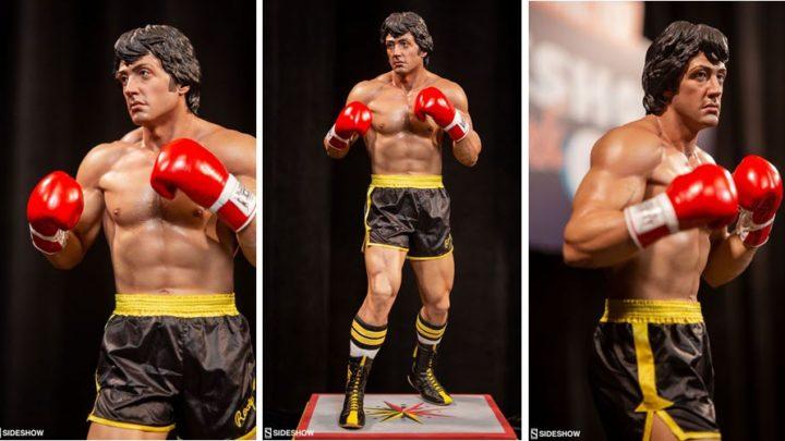 PCS mostra la statua di  Rocky Balboa