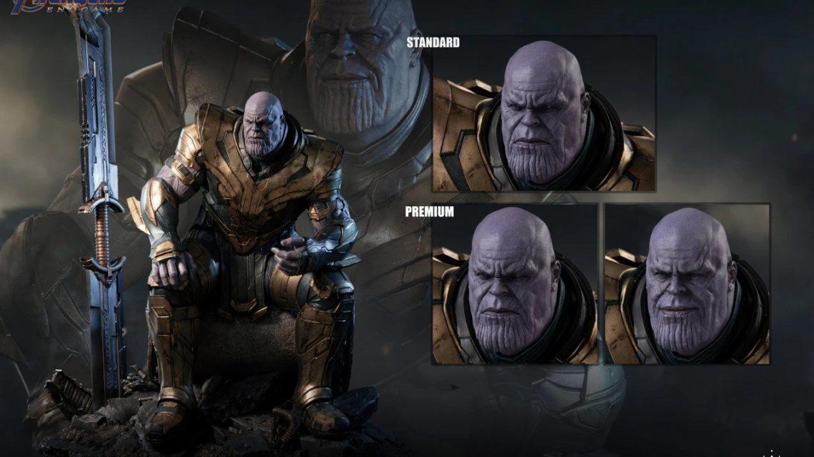Thanos 1/4 dalla Queen Studios