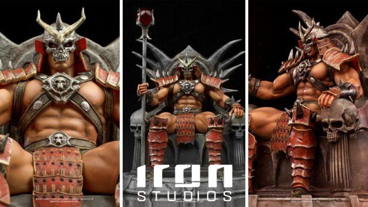 Iron Studios: Shao Kahn Deluxe Art Scale 1/10 – Mortal Kombat