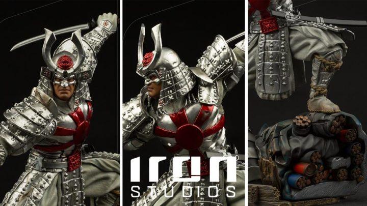 Iron Studios presenta la statua di Silver Samurai