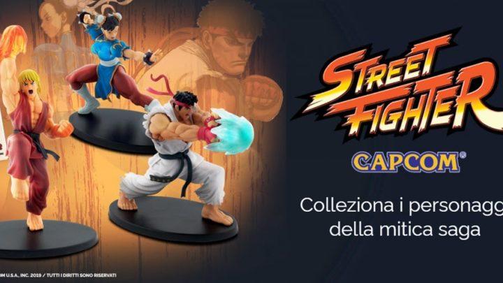 I personaggi di Street Fighter da collezionare