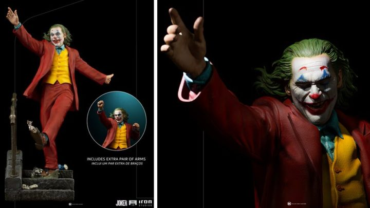 Iron Studios presenta la statua di The Joker