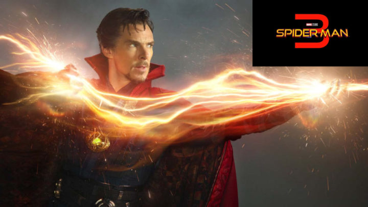 Benedict Cumberbatch nel ruolo di Doctor Strange in Spiderman 3