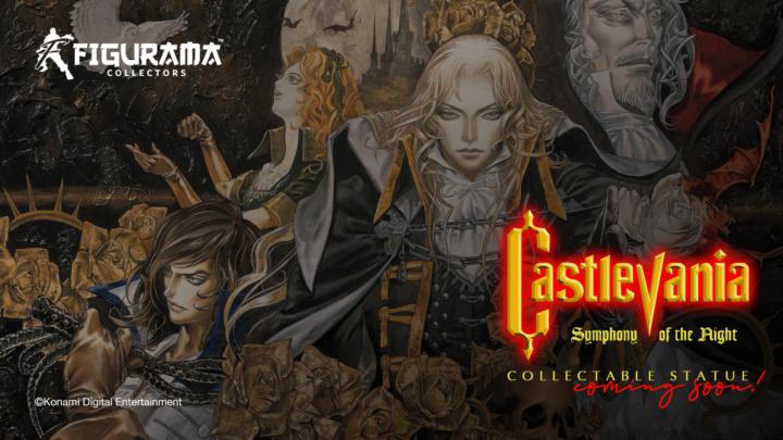 """Nuova licenza per Figurama Collectors :""""Castlevania: Symphony of the Night"""""""