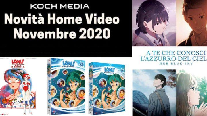 Anime Factory: Le novità Home Video di novembre 2020