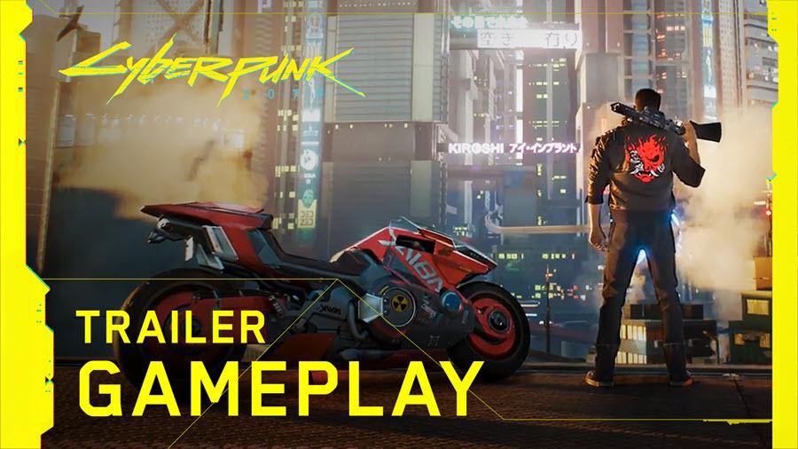 Gameplay in Italiano di Cyberpunk 2077.