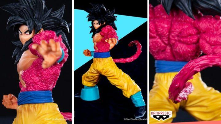 Banpresto presenta Goku SSJ4 Full Scratch (Dragon Ball GT)