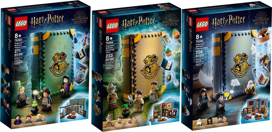 LEGO annuncia il set a forma di libro da Harry Potter