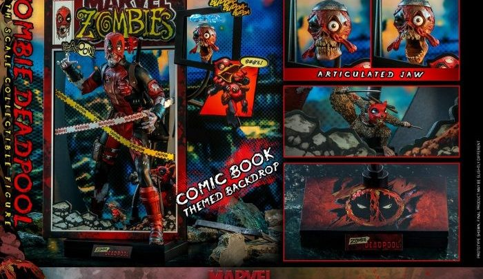Deadpool Zombie dalla Hot Toys