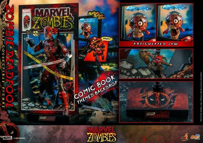 Deadpool Zombie dalla Hot Toys