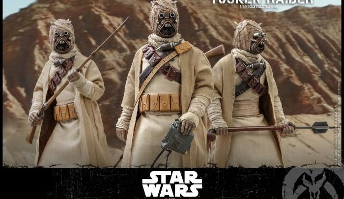"Il Tusken Raider da ""Star Wars: The Mandalorian"" prodotto da Hot Toys"