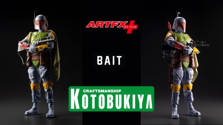 Boba Fett ARTFX+ Vintage Color Exclusive da Kotobukiya X Bait