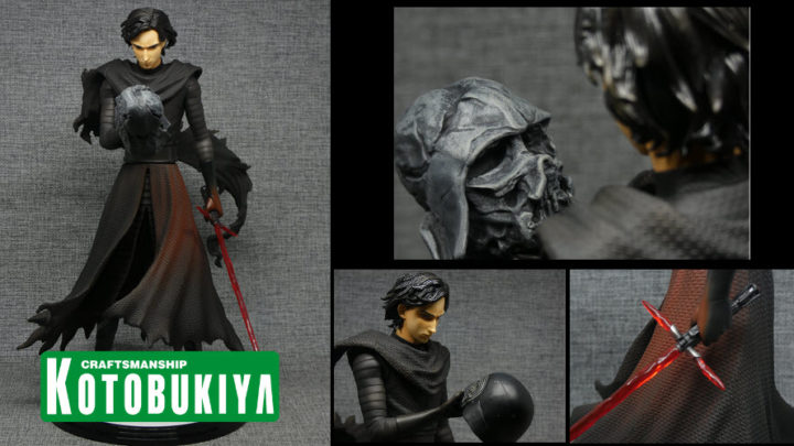 ARTFX Artist Series Kylo Ren Cloaked in Shadows – Kotobukiya – Recensione